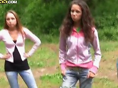 Nasty russian teens in hardcore party