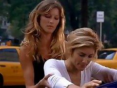 Gisele Bundchen and Jennifer Esposito-- By Sanjh