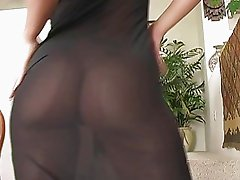 Lisa angelic brunette girl undressing and flashing ass and pussy and tits