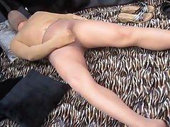 Cocoon Pantyhose Humping Stocking Cumshots X28