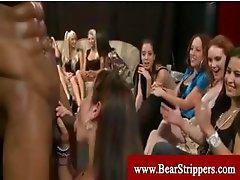 Cfnm stripper blowjobs from horny women