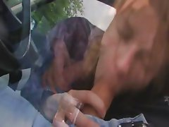 18yo estonian girl fucked on the car
