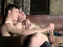 Zacary Starr might be reluctant, but the wanking hand of