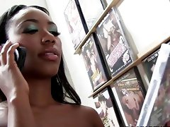 Chanell Heart sucks and fucks in a gloryhole