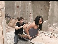 Gorgeous Ebony Queen Gets A Public Fuck In An Alley
