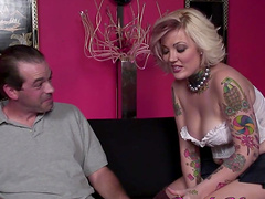 Black cock is all Candy Monroe wants to ride in front of her lover