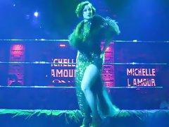 Burlesque Strip SHOW 023 Michelle L'amour Nude TANGO