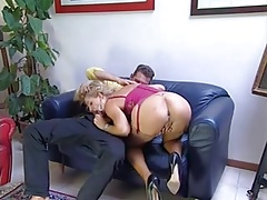 Beautiful blonde anal PacPac