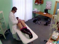 Exotic pornstar in Hottest Stockings, Medical sex clip