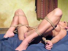 Busty Jessa Rhodes in gorgeous bondage romance