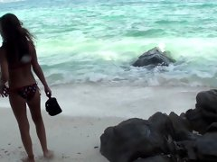 Anne in sex on the beach video featuring a slutty girl