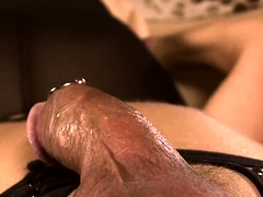 Provocative mature lady fucks a hard dick and gets creampied