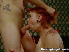 Fabulous pornstar Tommy Pistol in Horny Emo, Redhead sex movie