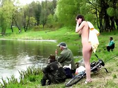 Horny Amateur video with Brunette, Smoking scenes