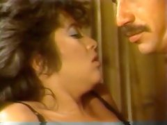 Insatiable white brunette milf babe giving head to her mature lover