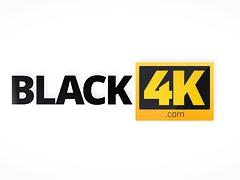 BLACK4K. Evelina Darling takes part in black on white...