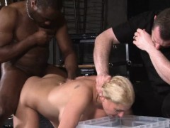 Rough interracial hardcore sex domination