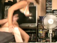 Crazy Homemade video with Doggy Style, Webcam scenes