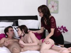 Mom insert Nina Nirvanas boyfriends cock