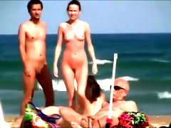 Hot bodies to admire at the nude beach
