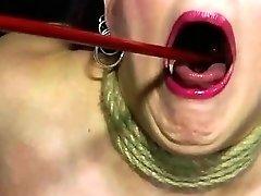 Slave girl punished and humiliated by lesbian mistress BDSM bondage