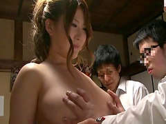 Hot Asian getting pounded hardcore in kitchen compilations