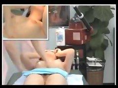 oriental wife massaged by 2 orientals
