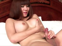 Ladyboys cumming hard - compilation - part 4