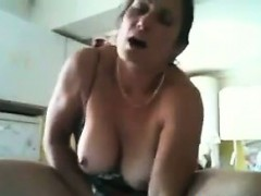 Woman Masturbating With A Vegetable