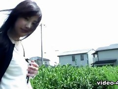 Nasty Karin Asahi Is Fingered On The Road - AviDolz