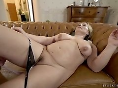 Young dude fucks mature nextdoor hoochie with big boobs Mimi Jean
