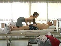 Gorgeous babe Yui Hatano fucks her husband in hospital