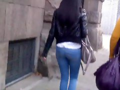 Very Young Teen In Tight Jeans