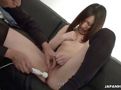 Slutty babe getting fucked like a whore