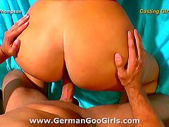 Hot footage behind the scenes at a crazy German gangbang