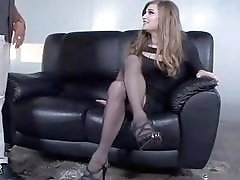 Thick ass tranny loves to pleasure a rock solid cock