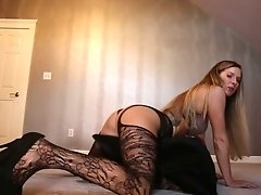 This torrid chick will blow your mind and she likes to wear a sexy lingerie