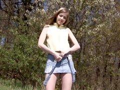 Incredible pornstar Abigaile Johnson in fabulous blonde, masturbation sex movie