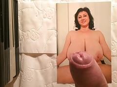 Czech Big boobs MILF cum tribute 2