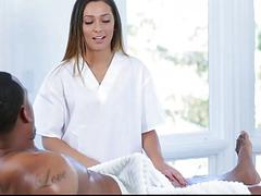 Massage Therapy For Daddys Black Cock