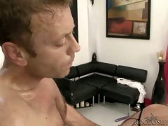 Rocco drills one slut and polishes her anus