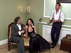 Incredible pornstars Jasmine Black and Elizabeth Lawrence in crazy anal, lingerie adult scene