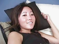 Busty thai Leili Yang goes black
