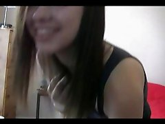 Pretty emo girl Becka nude webcam dance