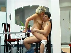 Mature mother seduced own son