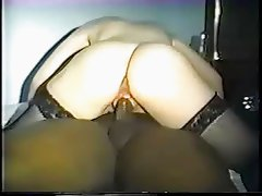 Wife loves to get black cock creampie